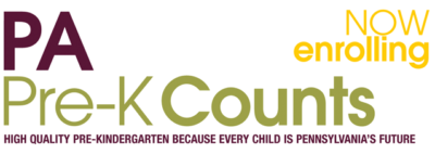 PA Pre-K Counts: High Quality Pre-Kindergarten because every child is Pennsylvania's future.