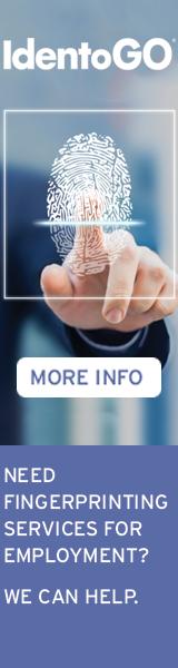 IdentoGO Fingerprinting Services: Click Here
